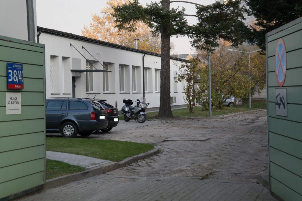 Placówka ABW Miłobędzka 40 w Warszawie